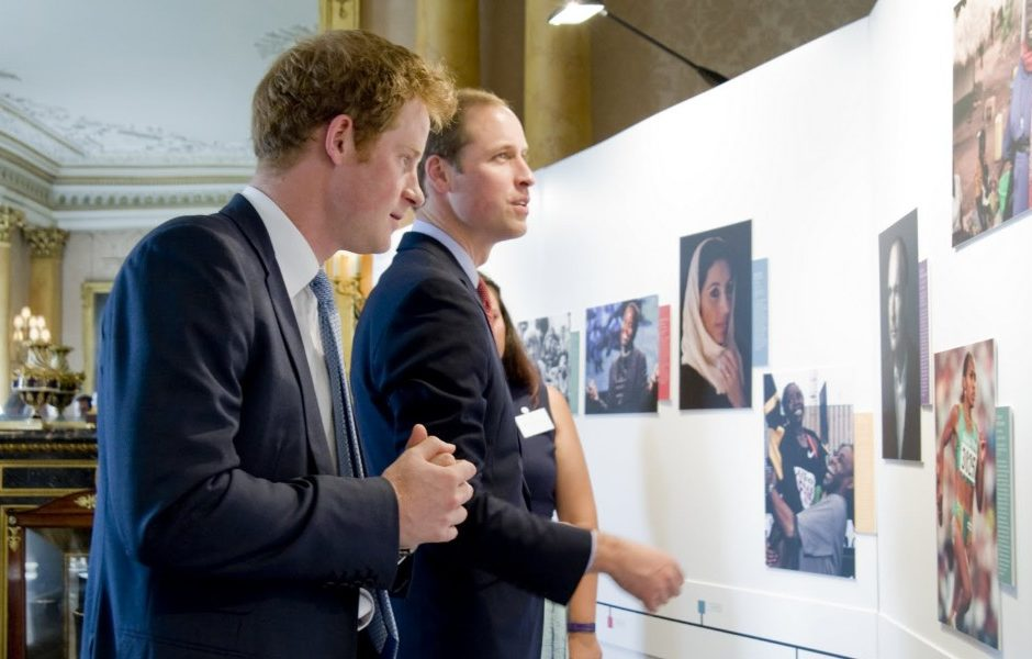 HRH the Duke of-Cambridge and HRH Prince Harry launch the search for the Queen's Young Leaders