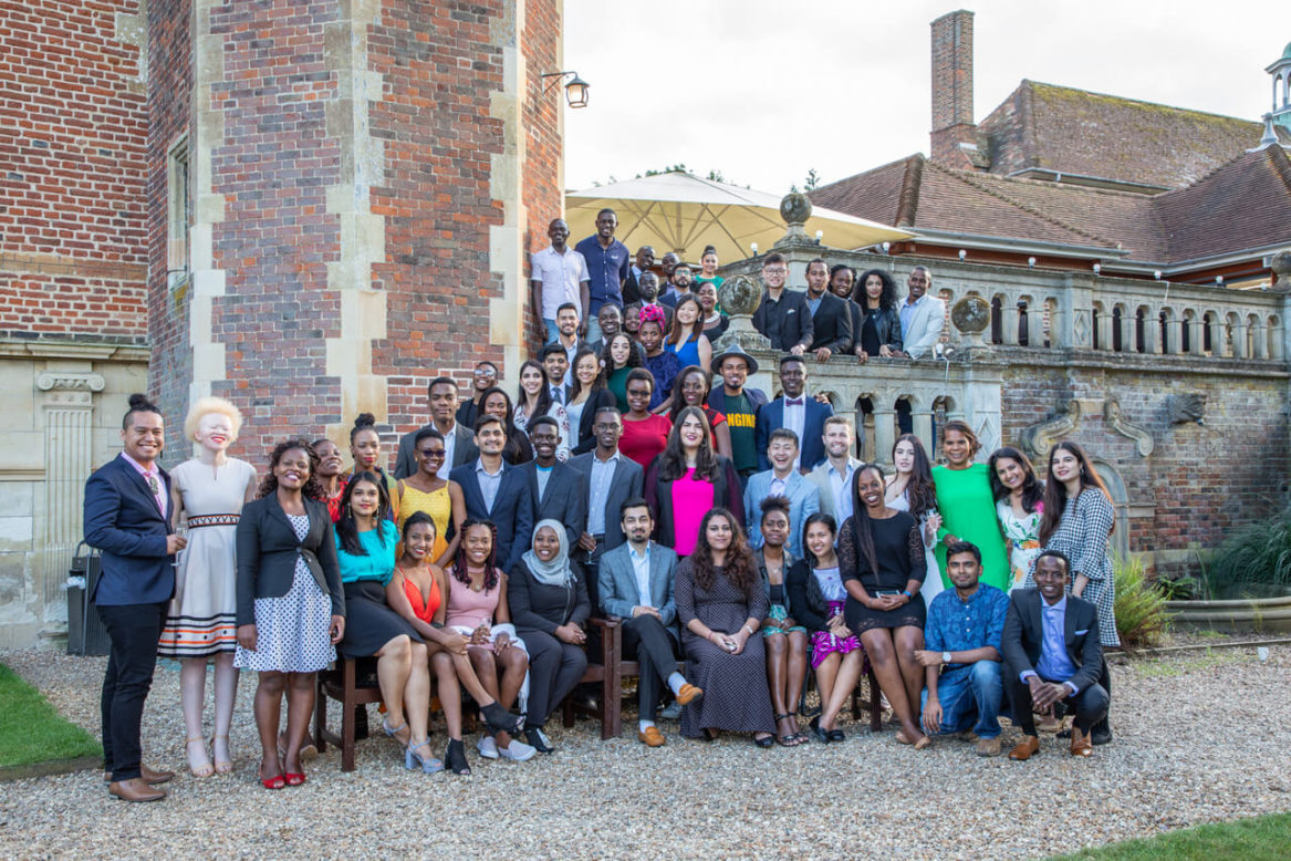 Queens Young Leaders group photograph