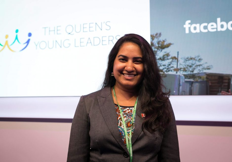 Ishita Aggarwal 2018 Queen's Young Leader from Canada