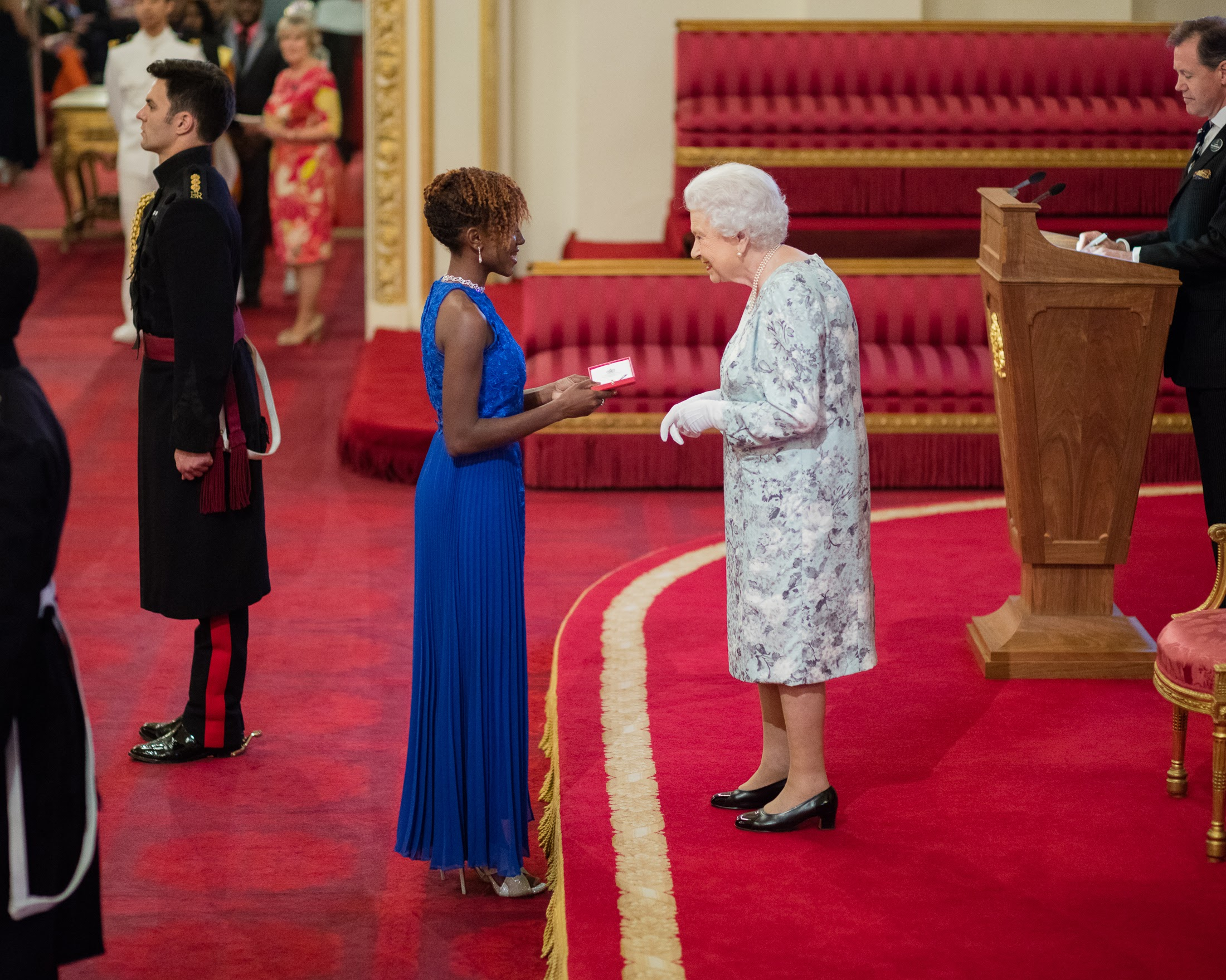 Jamila Sealy 2016 Queen's Young Leader from Barbados