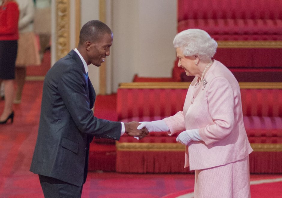 Jerome Cowans 2015 Queen's Young Leader from Jamaica