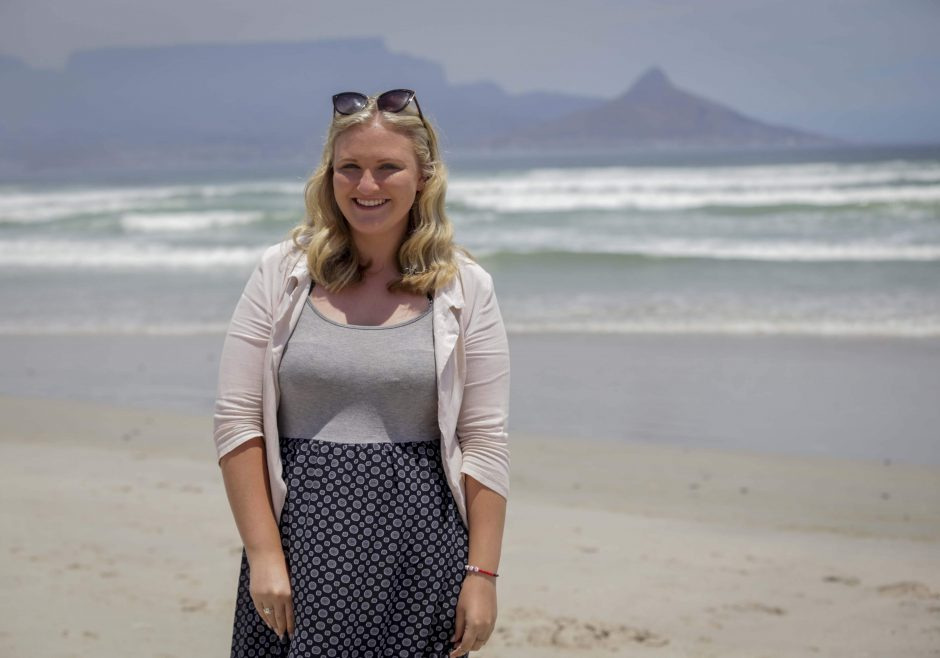 Jessica Dewhurst 2016 Queen's Young Leader from South Africa