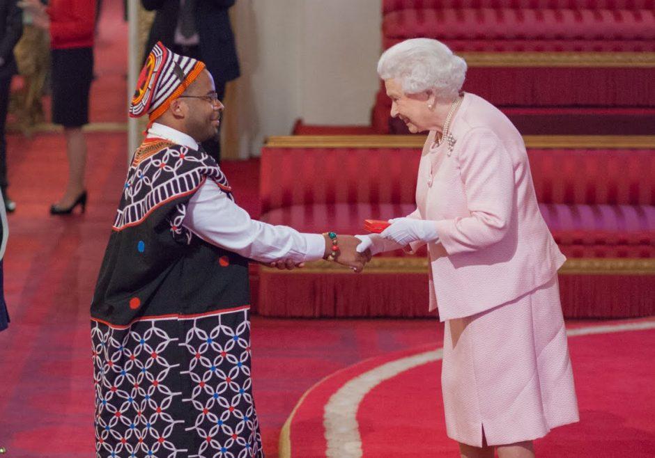 Joannes Paulus Yimbesalu 2015 Queen's Young Leader from Cameroon
