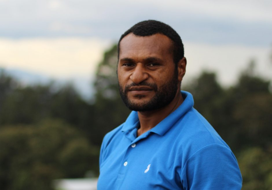 John Taka 2015 Queen's Young Leader from Papua New Guinea