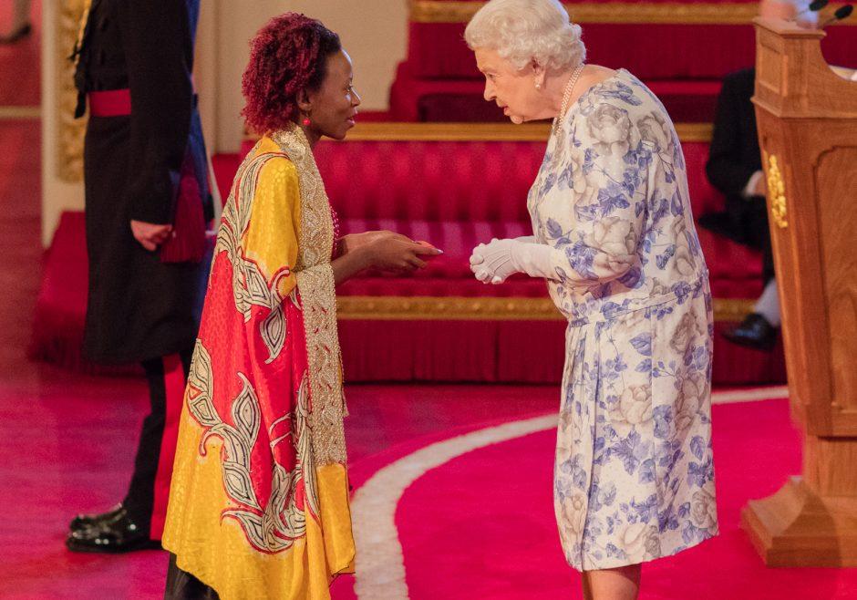 Josephine Nabukenya 2016 Queen's Young Leader from Uganda