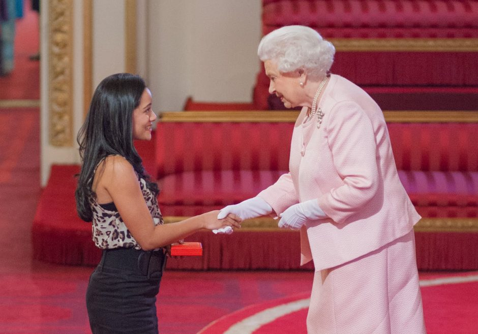 Karuna Rana 2015 Queen's Young Leader from Mauritius