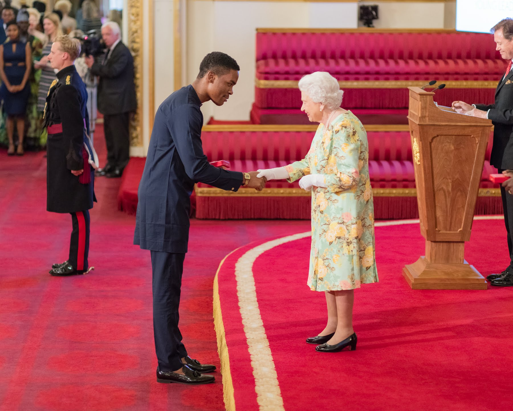 Kennedy Ekezie Joseph 2018 Queen's Young Leader from Nigeria