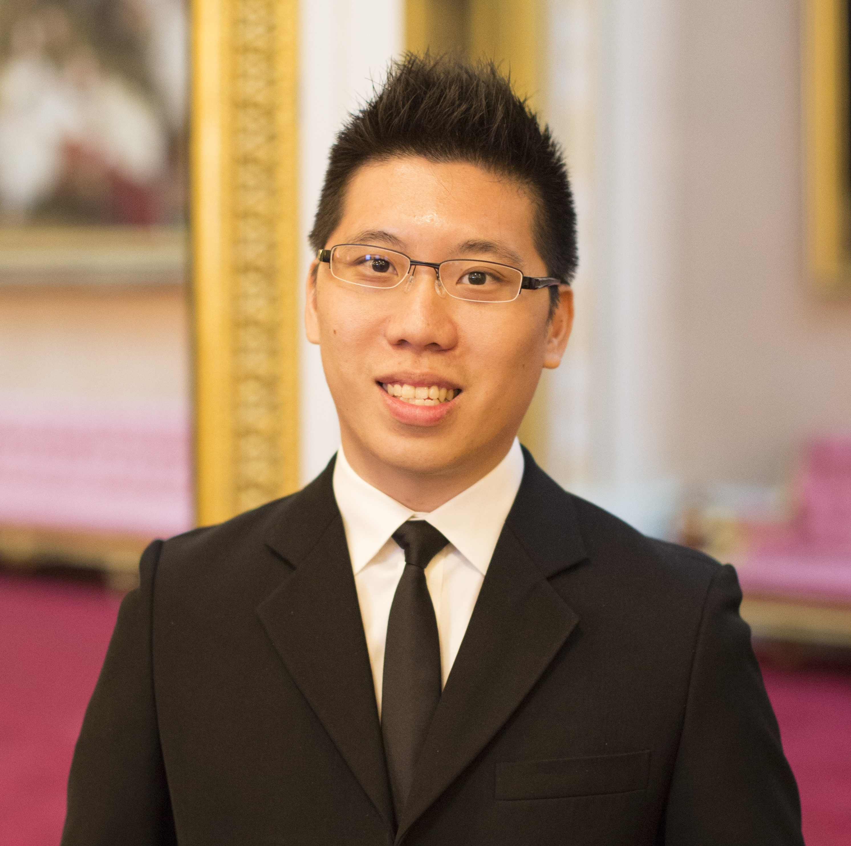 Mark Jin Quan Cheng 2016 Queen's Young Leader from Singapore