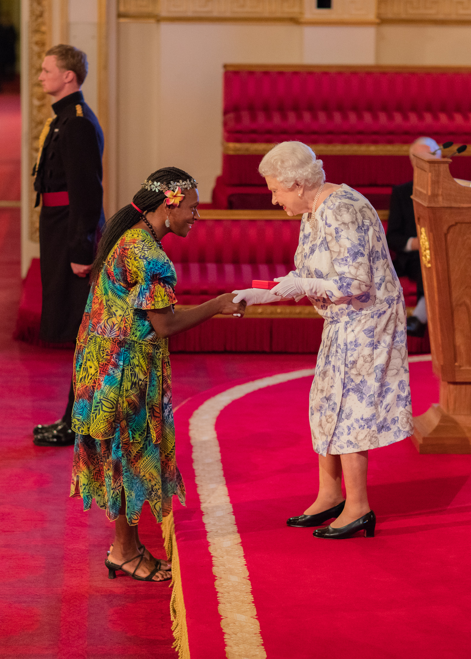 Mary Siro 2016 Queen's Young Leader from Vanuatu