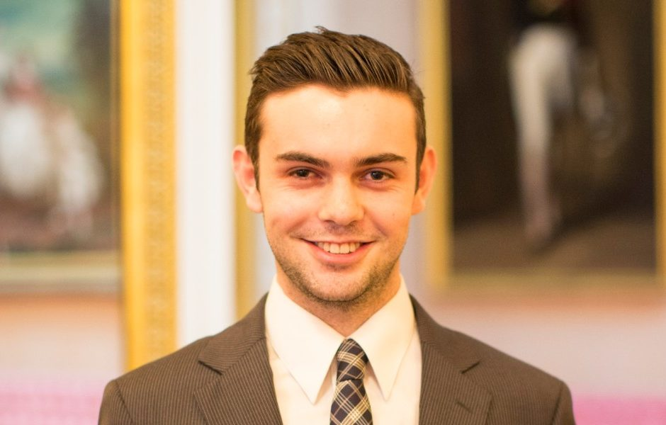 2016 Queen's Young Leaders Alexander Stonyer-Dubinovsky