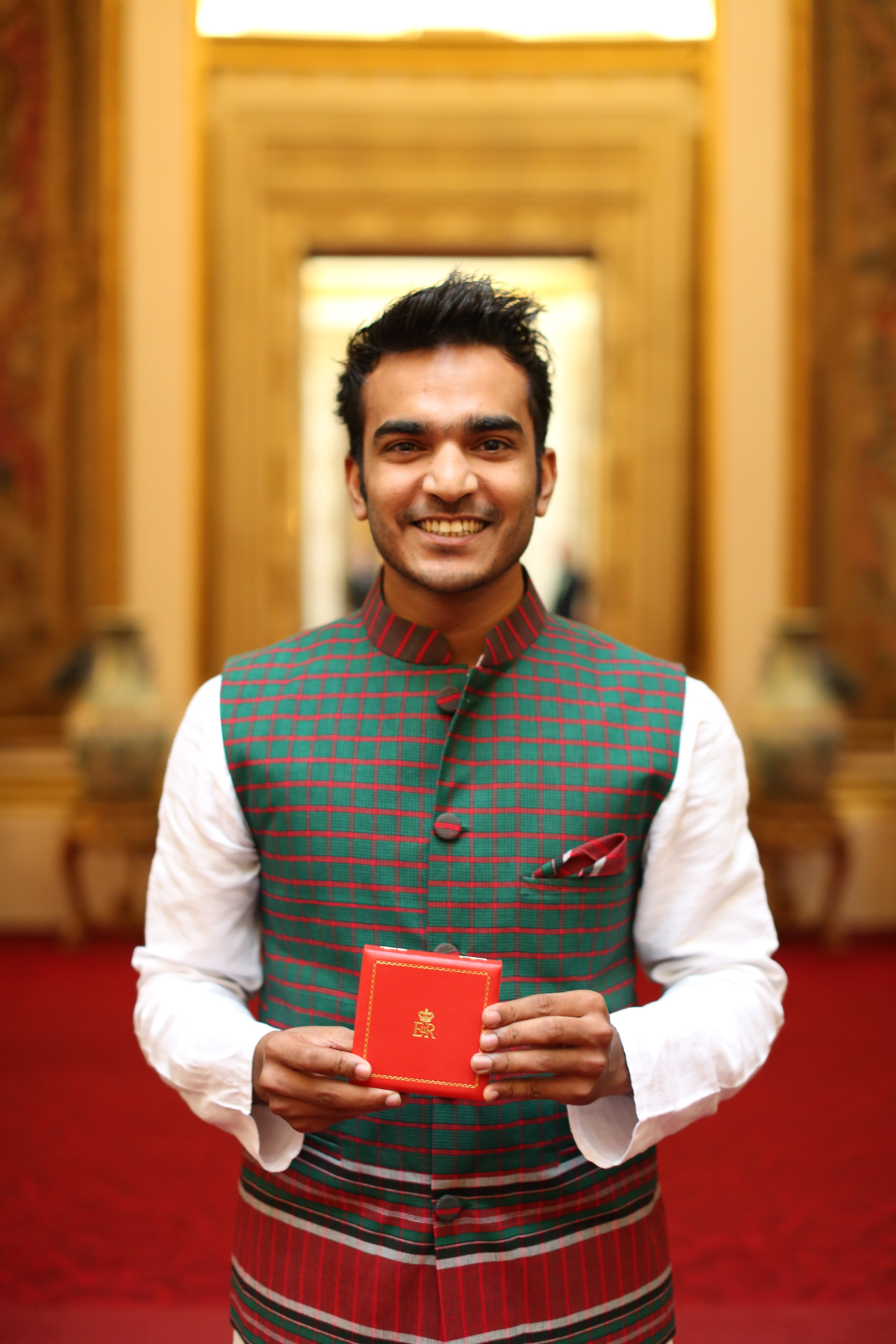 Sajid Iqbal 2017 Queen's Young Leader from Bangladesh