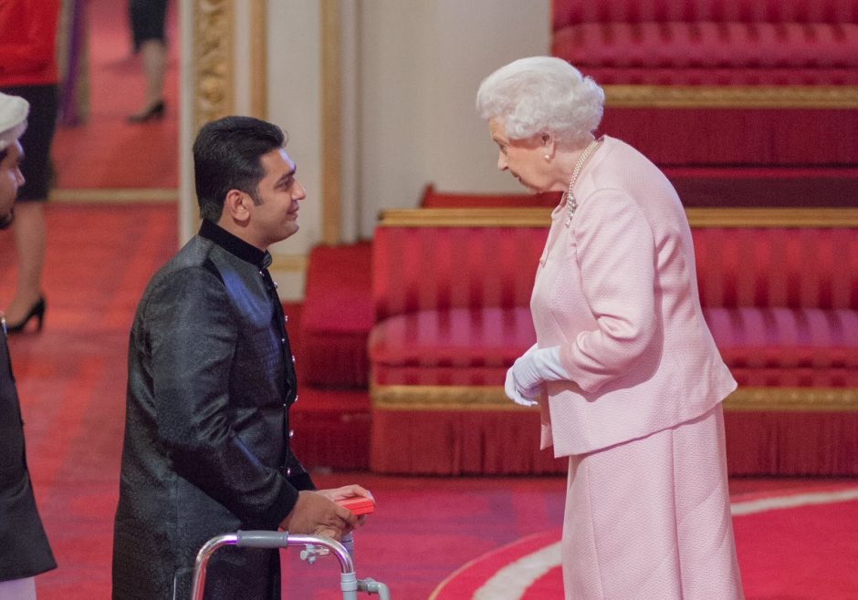 Salman Ahmad 2015 Queen's Young Leader from Pakistan
