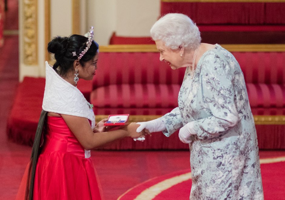 2017 Queen's Young Leader Samantha Sheoprashad from Guyana