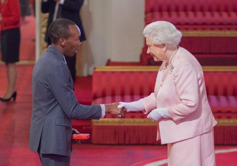 Samuel Karuita 2015 Queen's Young Leader from Kenya