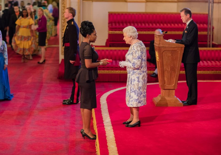 Shamelle Rice 2016 Queen's Young Leader from Barbados