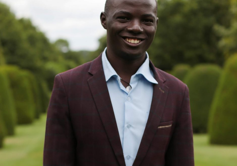 Stephen Katende 2018 Queen's Young Leader from Uganda