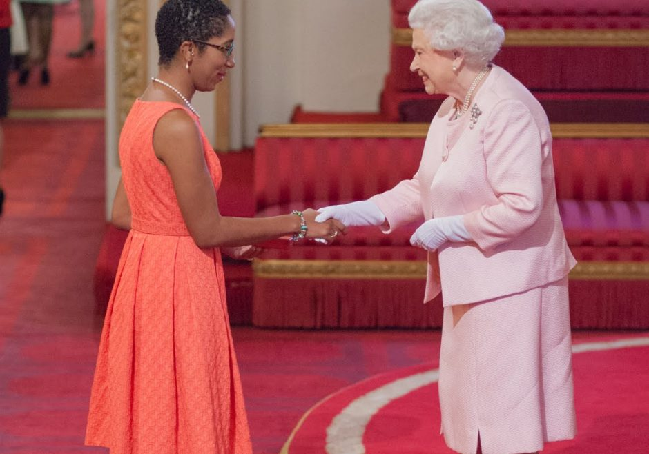 Alicia Wallace 2015 Queen's Young Leader from Bahamas