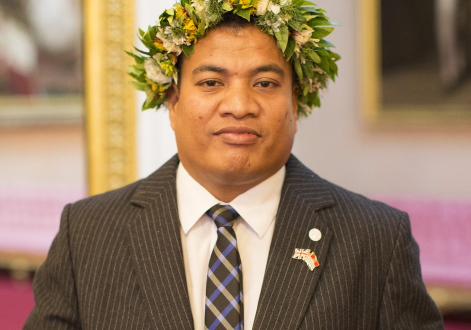 Tabotabo Auatabu 2016 Queen's Young Leader from Kiribati