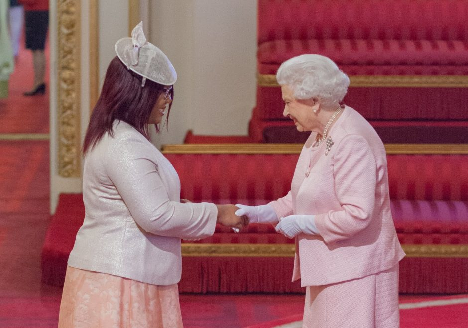 Teocah Dove 2015 Queen's Young Leader from Trinidad and Tobago