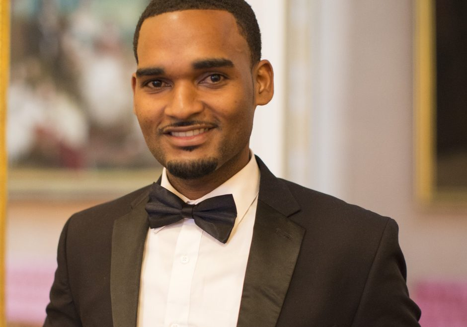 Tevin Shepherd 2016 Queen's Young Leader from Saint Lucia