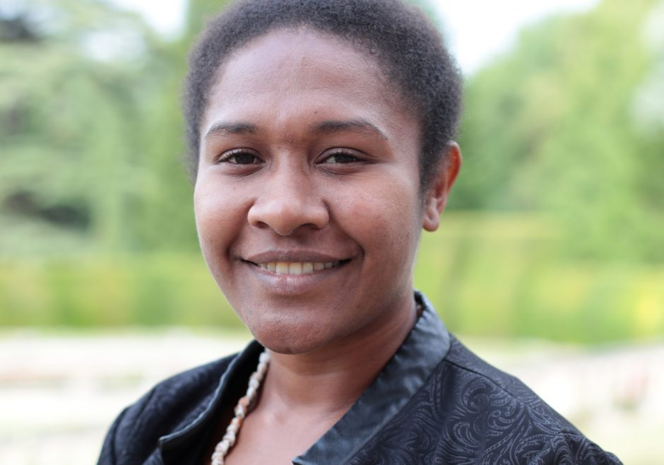 Theresa Gizoria 2017 Queen's Young Leader from Papua New Guinea