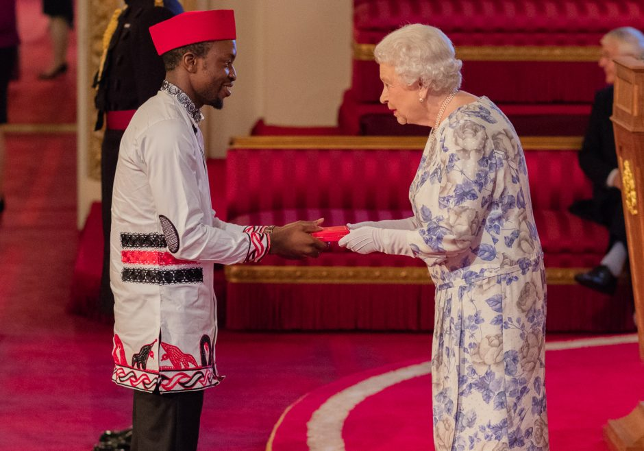 David Morfaw 2016 Queen's Young Leader