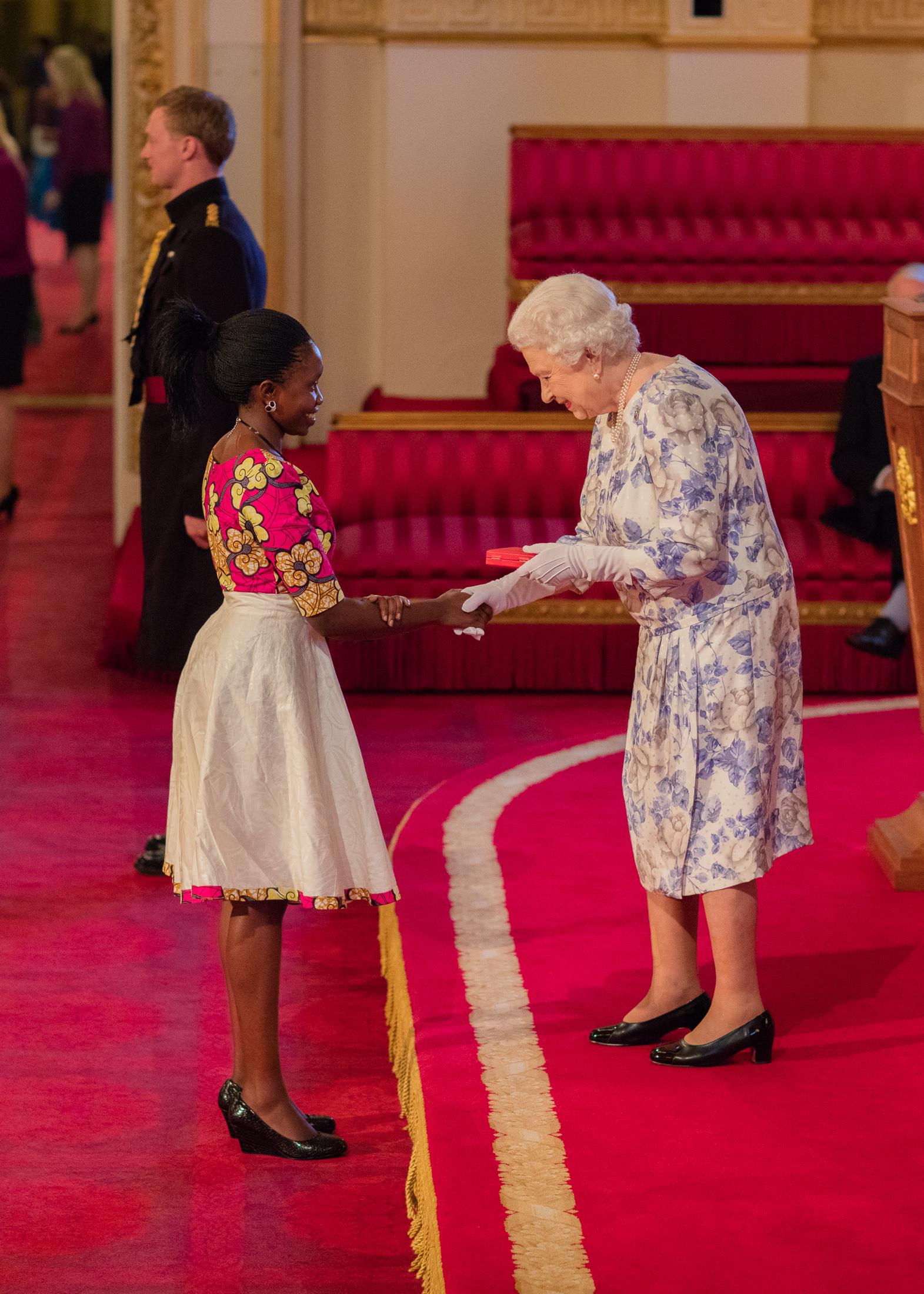 Susan Mueni Waita 2016 Queen's Young Leader