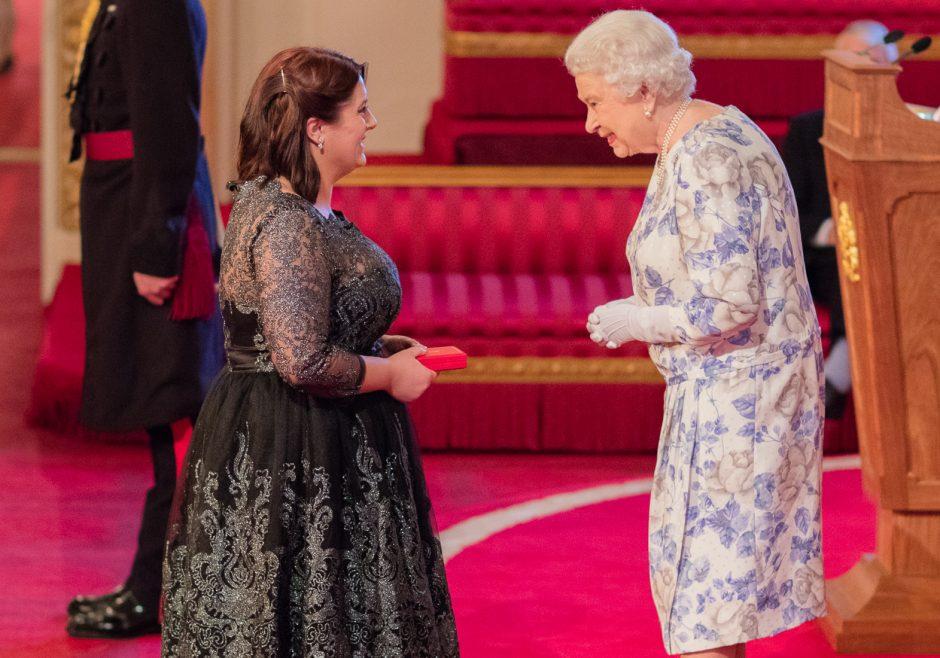 Ashleigh Exley 2016 Queen's Young Leader