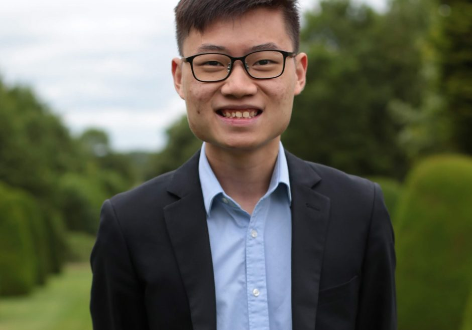 Yi Jun Mock 2018 Queen's Young Leader from Singapore