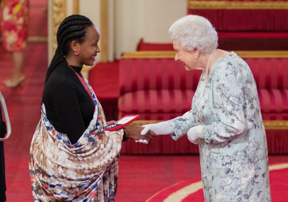 Yvette Ishimwe Rwanda Queen's Young Leader
