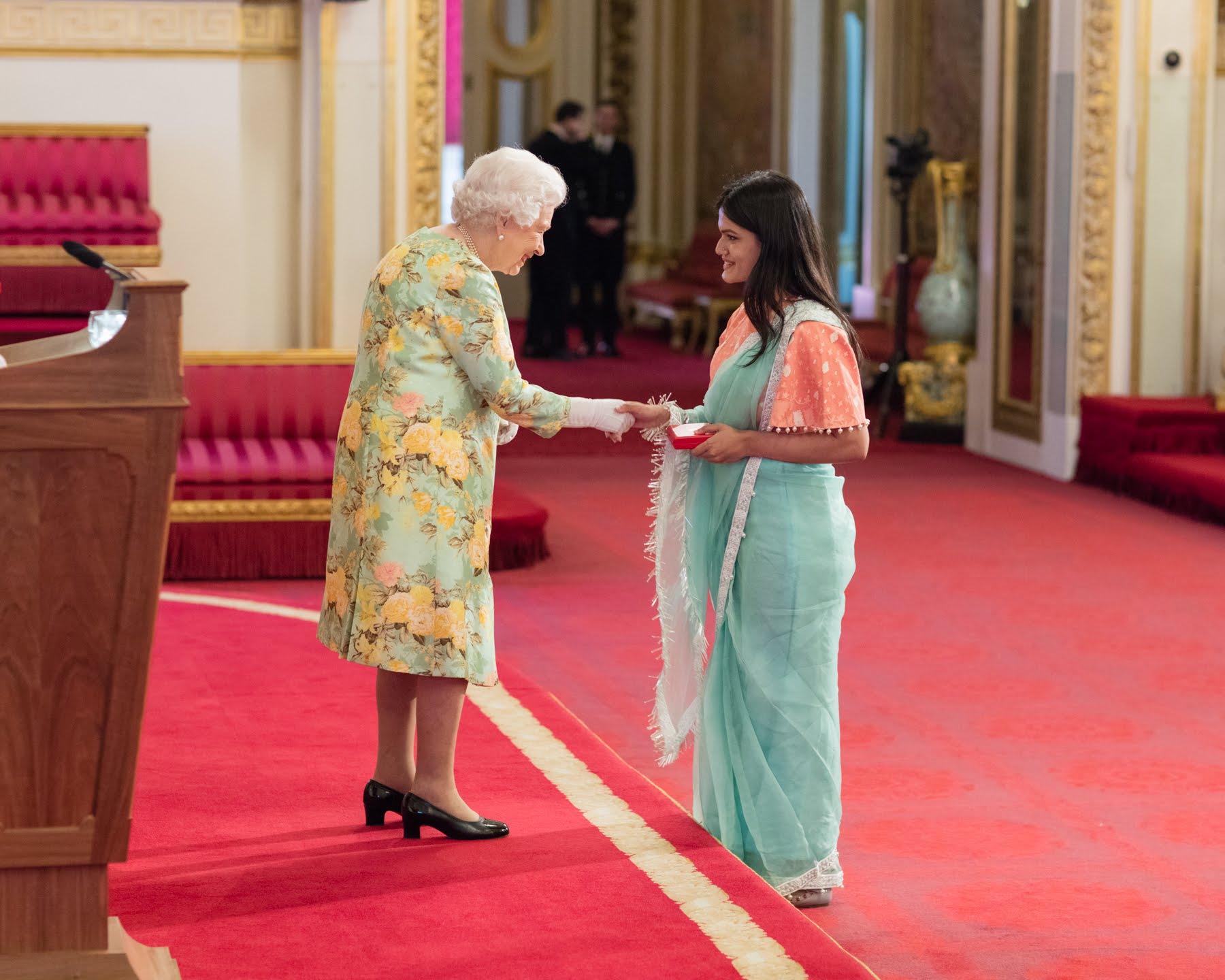 Zaiba Tahyya Bangladesh 2018 Queen's Young Leader