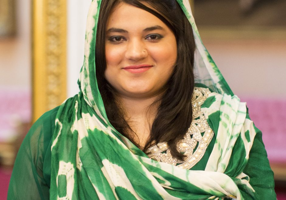 Zainab Bibi 2016 Queen's Young Leader from Pakistan