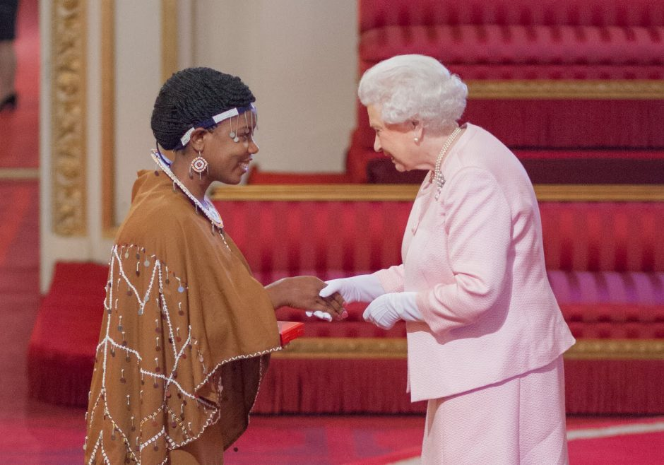 Angela Benedicto Mnagoza - 2015 Queen's Young Leader from Tanzania