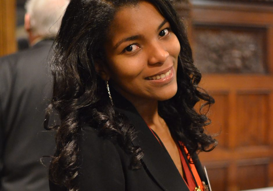 Angelique Pouponneau 2016 Queen's Young Leader from Seychelles