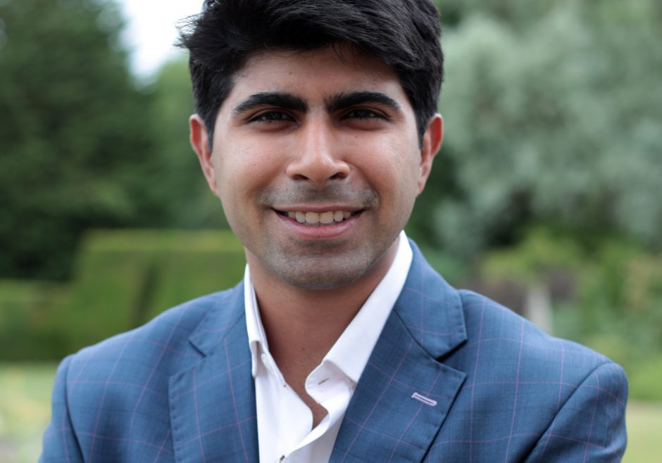 Ankit Kawatra 2017 Queen's Young Leader from India