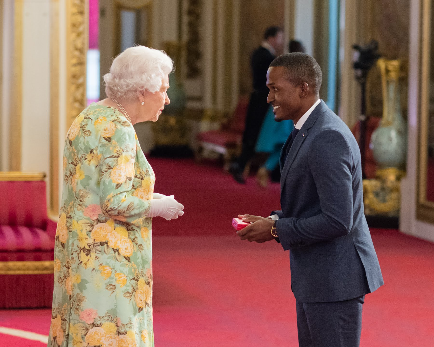 Aubery Stewart 2018 Queen's Young Leader from Jamaica