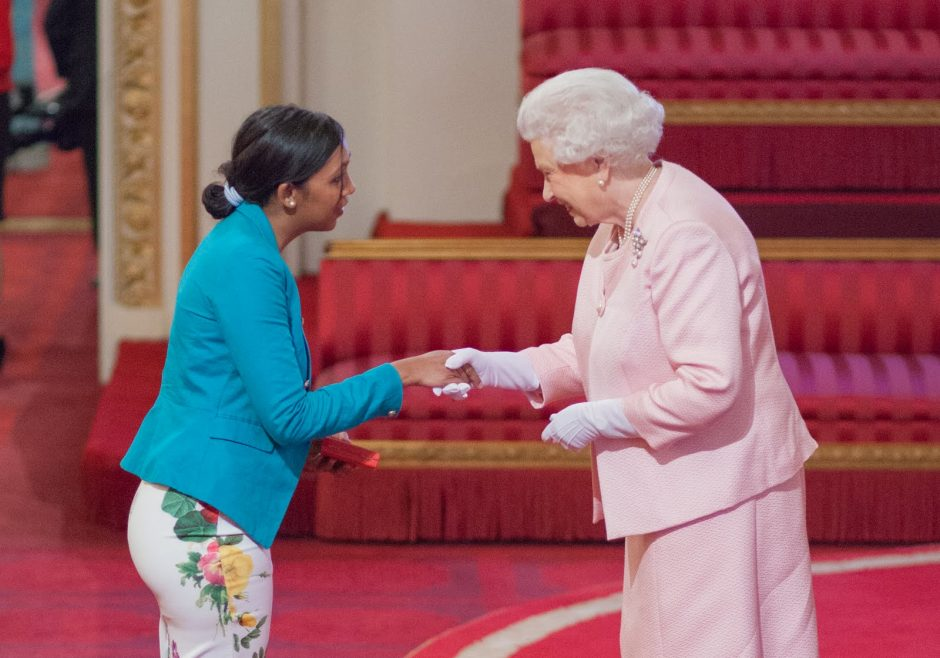 Barkha Mossae 2015 Queen's Young Leader from Mauritius