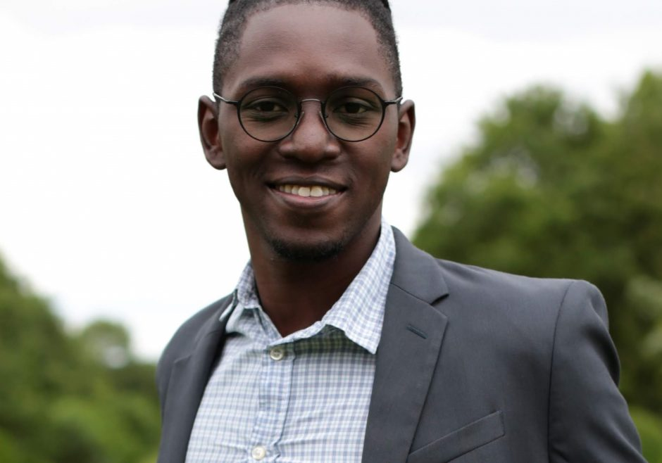 Benedict Bryan 2018 Queen's Young Leader from Trinidad and Tobago