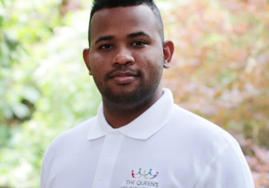 Abrahim Simmonds 2017 Queen's Young Leader from Jamaica