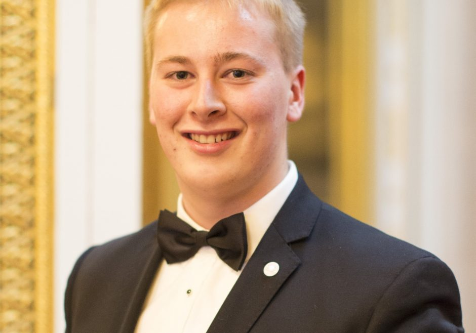 Brad Olsen 2016 Queen's Young Leader from New Zealand