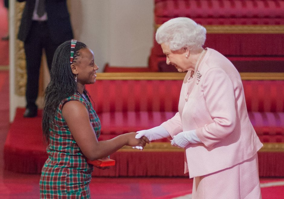 Caren Nelima Odanga 2015 Queen's Young Leader from Kenya