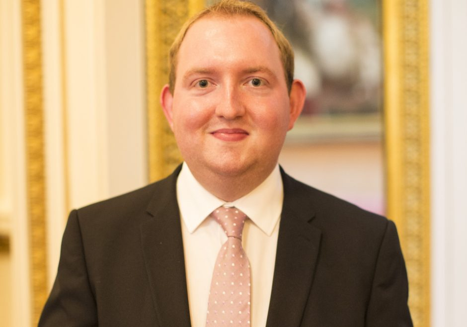Adam Bradford 2016 Queen's Young Leader from the United Kingdom