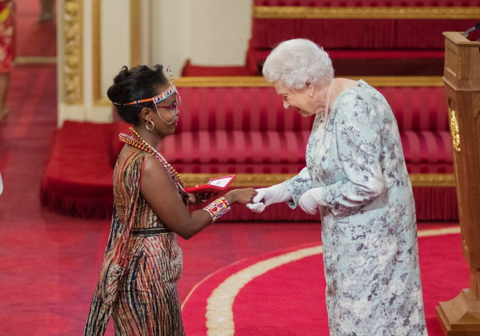 Chebet Lesan 2017 Queen's Young Leader from Kenya