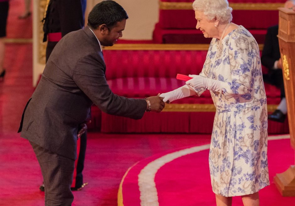 Deegesh Maywah 2016 Queen's Young Leader from Mauritius