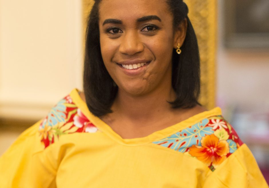 Deidra Smith 2016 Queen's Young Leader from Belize