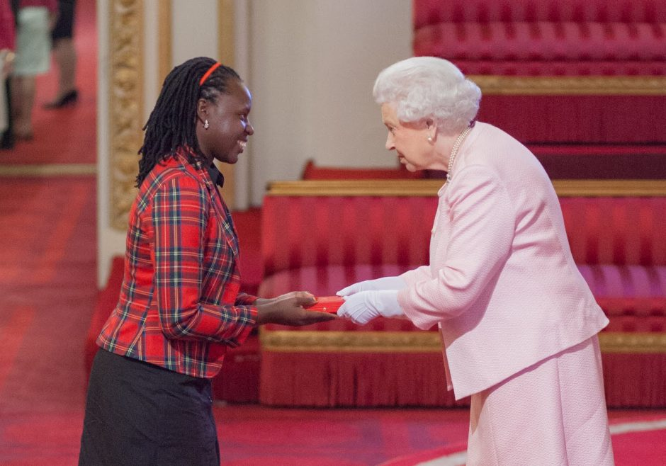 Diana Nakaweesa 2015 Queen's Young Leader from Uganda