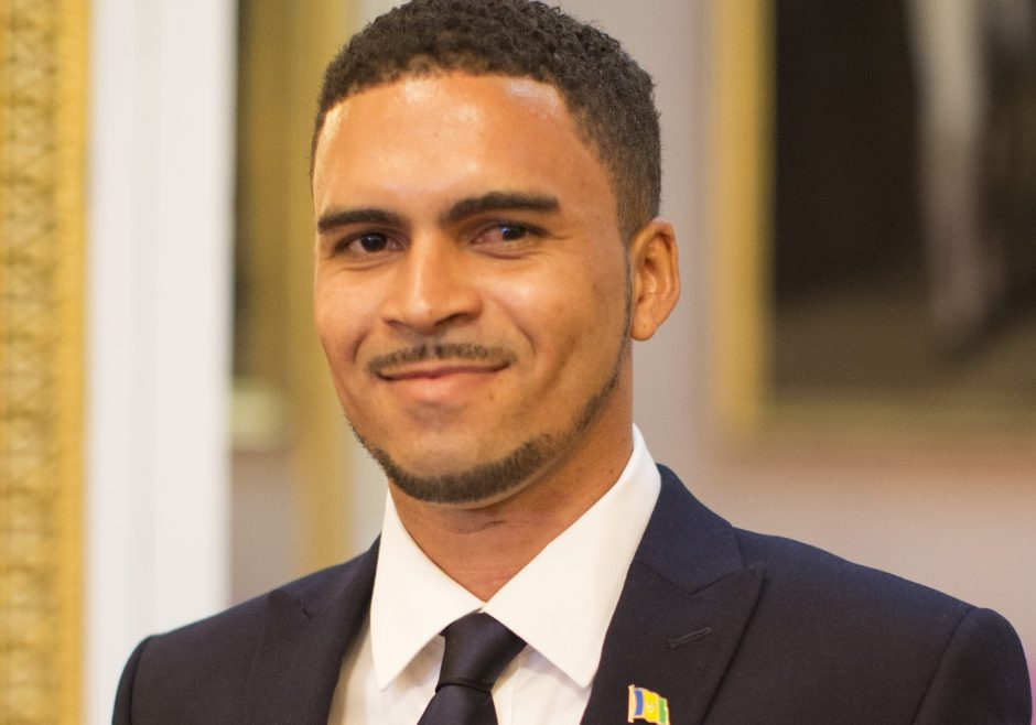Dillon Ollivierre 2016 Queen's Young Leader from St Vincent and the Grenadines