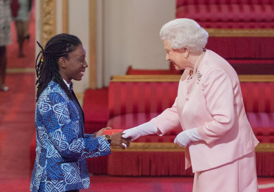 Donnya Piggott 2015 Queen's Young Leader from Barbados