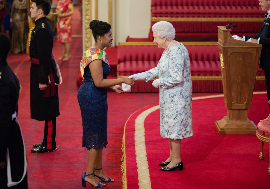 Efua Asibon 2017 Queen's Young Leader from Ghana