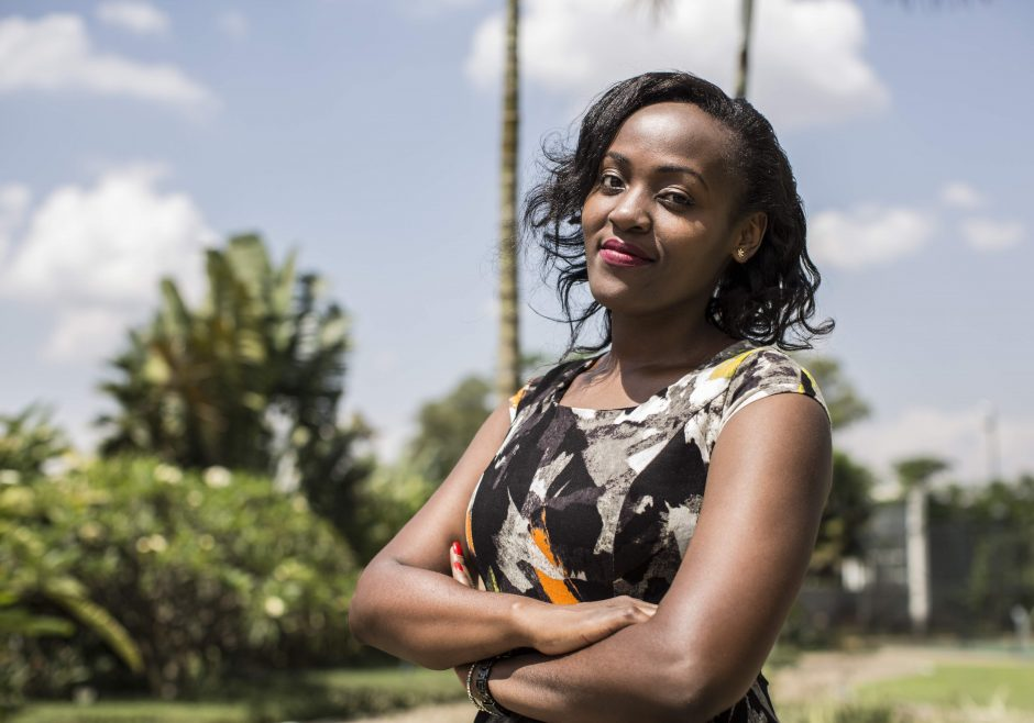 Elizabeth Kasujja 2018 Queen's Young Leader from Uganda